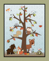 Tree with Animals