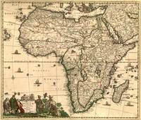 Antique Africa Map