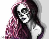 Skull Candy Portrait