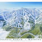 """49 Degrees North Mountain Resort, Washington"" by jamesniehuesmaps"