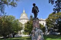 West Virginia Capitol and Stonewall Jackson