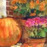 """Pumpkin Painting"" by schulmanart"