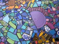 Mosaic Cafe Table at YJ's