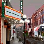 """Leeds In the Rain, Winchester, Kentucky"" by BrendaSalyersArt"