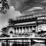 """Urban Landscape Singapore, Fullerton Hotel"" by sghomedeco"