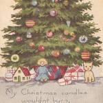 """Vintage Christmas Wish"" by angelandspot"