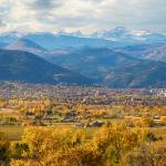 """Boulder Colorado Autumn Scenic View"" by lightningman"