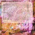 """I Corinthians 13"" by lizmix"