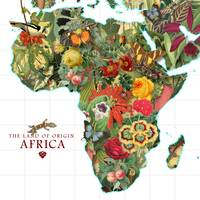 Africa Map of Plants