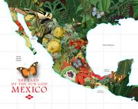 Mexico Map of Plants and Flowers