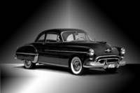 1950 Oldsmobile Rocket 88 BW Studio