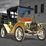 """""""1910 Buick Roadster B and W"""" by FatKatPhotography"""