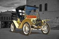 1910 Buick Roadster B and W