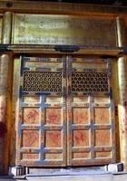 Golden Lacquered Door