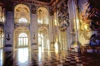 Baroque Palace's Golden Light