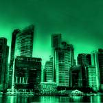 """Urban Landscape Singapore 2013, Vintage Tone"" by sghomedeco"