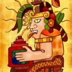 """""""Encantador De Serpientes AZTEC"""" by ReneeLozenGraphics"""