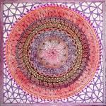"""Pink Chakra"" by SandhyaManne"