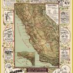 """California Bicycle Ad Map"" by redssr03"