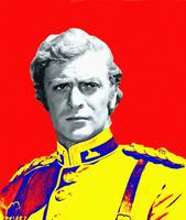 Michael Caine in Zulu