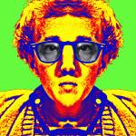 """Woody Allen, alias"" by ArtCinemaGallery"