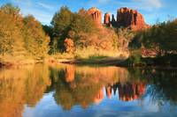 Cathedral Rock and Landscape Reflections, Sedona