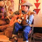 """Danny Romero, Dia des Muertos, Prescott AZ"" by RoupenBaker"