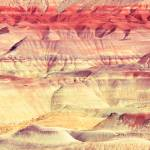"""Painted Desert Abstract"" by RoupenBaker"