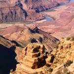 """Grand Canyon and Colorado River"" by RoupenBaker"