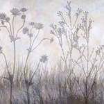 """Wildflower Silhouettes Silvery grey"" by CoraNiele"