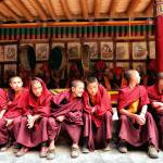 """Boy Monks of Hemis"" by kenlee"