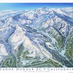 """Tahoe Donner XC California"" by jamesniehuesmaps"