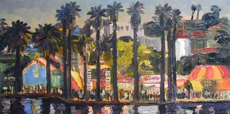 Carnival at Echo Park Lake