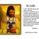 """""""German Shepherd With Jesus copy"""" by heavenlyimages"""