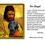 """""""Jesuswith blklab copy"""" by heavenlyimages"""