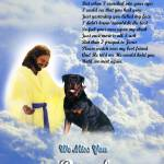 """""""Jesus and Rottweiler copy"""" by heavenlyimages"""