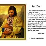 """Yorkie with Jesus copy"" by heavenlyimages"