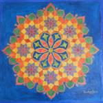 """Flower Chakra"" by SandhyaManne"