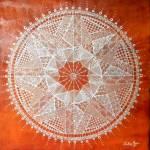 """Brown Chakra"" by SandhyaManne"