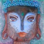 """""""Blue Buddha"""" by SandhyaManne"""