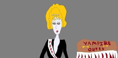 Vampire Queen Pageant - Miss France