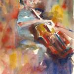 """""""Cellist"""" by barbarahart"""