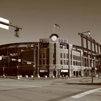 """Coors Field - Colorado Rockies"" by Ffooter"