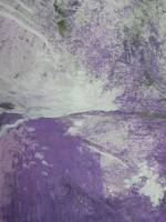 Purple Dust Abstract Art