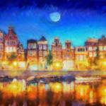 """Amsterdam night"" by jasonhoke"