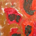 """abstract in red"" by sheaholliman"