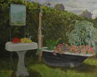 Rural Gardens, Washroom