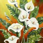 """""""""""Lillies"""""""" by susandrobinson"""