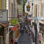 """Antibes Street Scene"" by awsheffield"