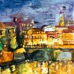 """Paris Reflections Mixed media by Ginette"" by GinetteCallaway"
